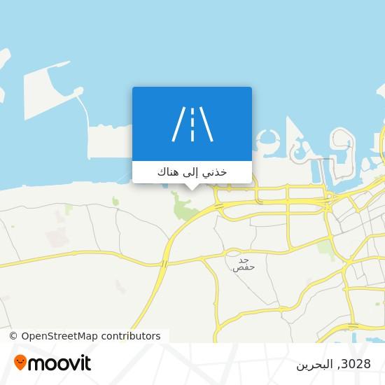 خريطة 3028
