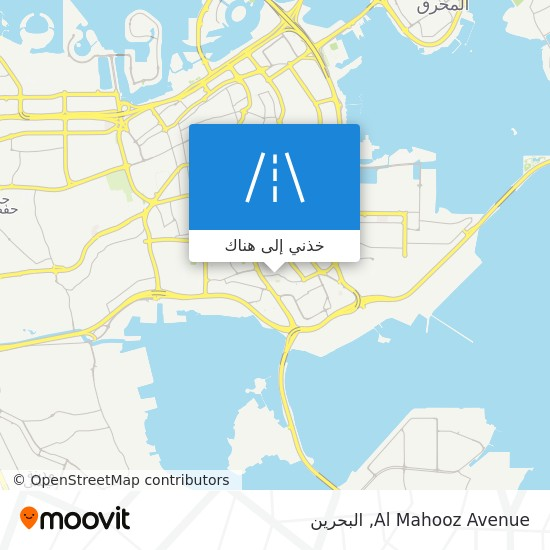 خريطة Al Mahooz Avenue