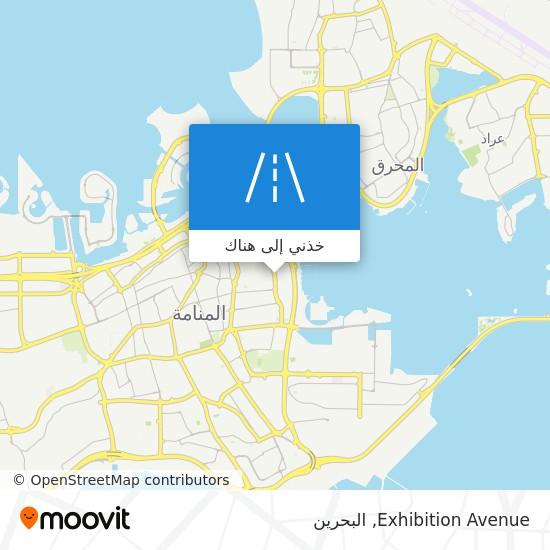 خريطة Exhibition Avenue