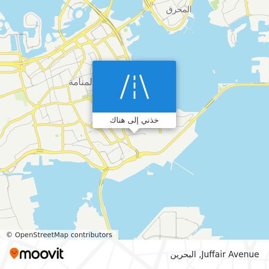 خريطة Juffair Avenue