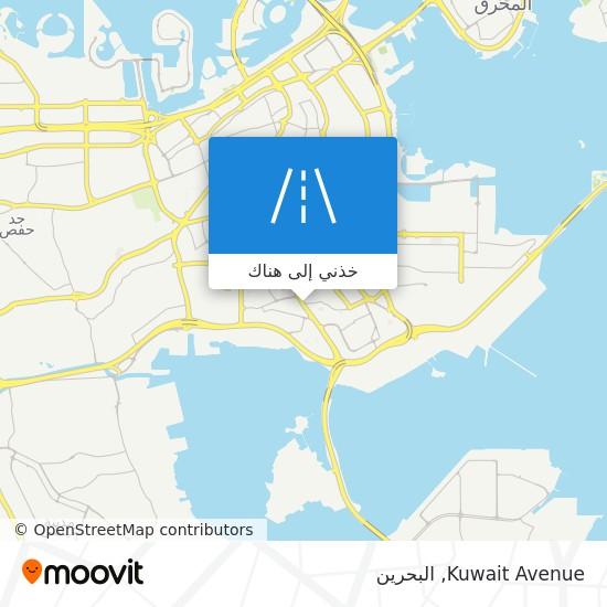 خريطة Kuwait Avenue