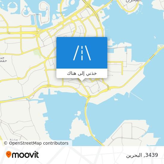 خريطة 3439