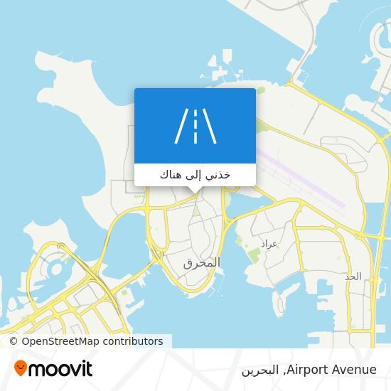 خريطة Airport Avenue