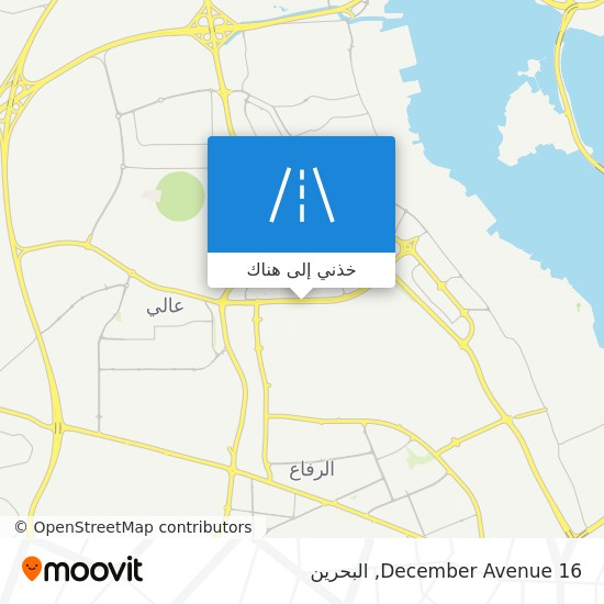 خريطة 16 December Avenue