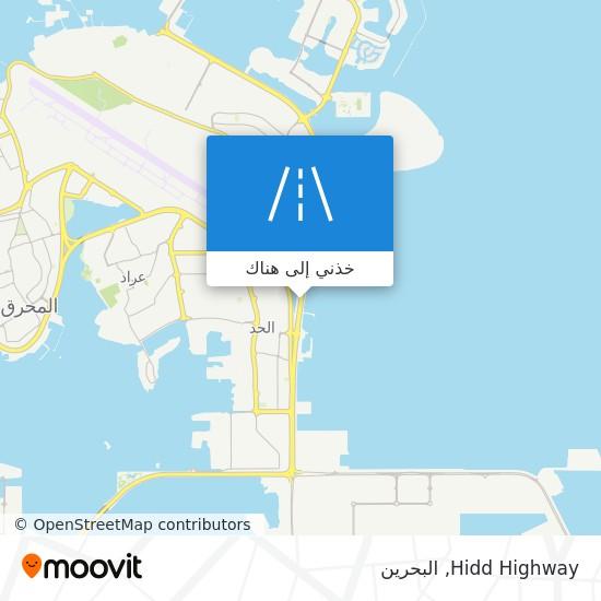 خريطة Hidd Highway