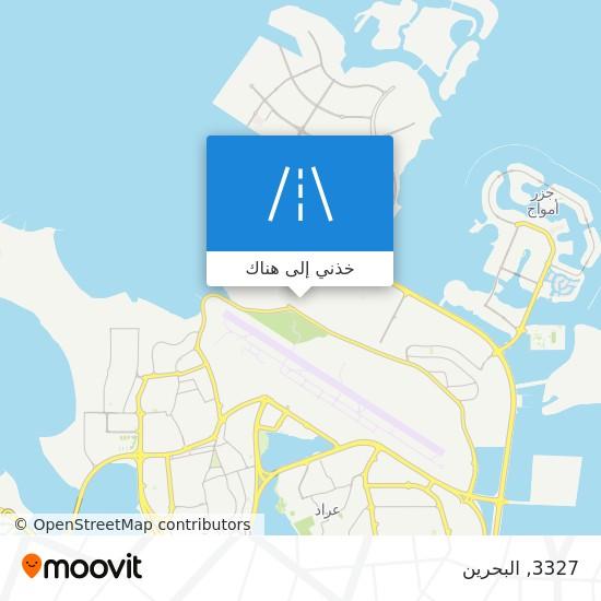 خريطة 3327