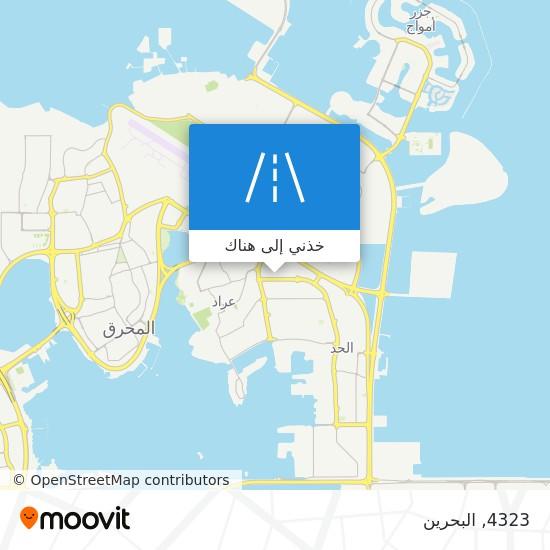 خريطة 4323