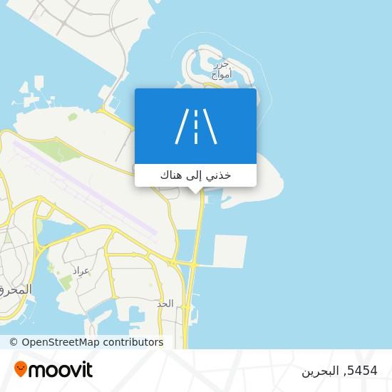 خريطة 5454