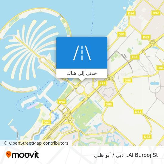 خريطة Al Burooj St.