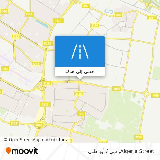خريطة Algeria Street