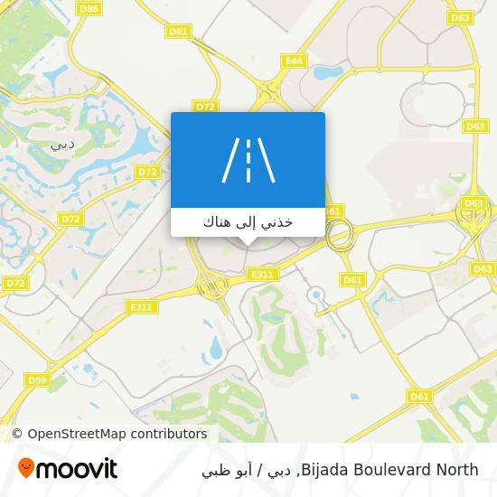 خريطة Bijada Boulevard North