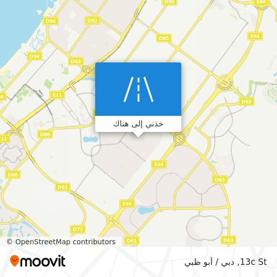 خريطة 13c St