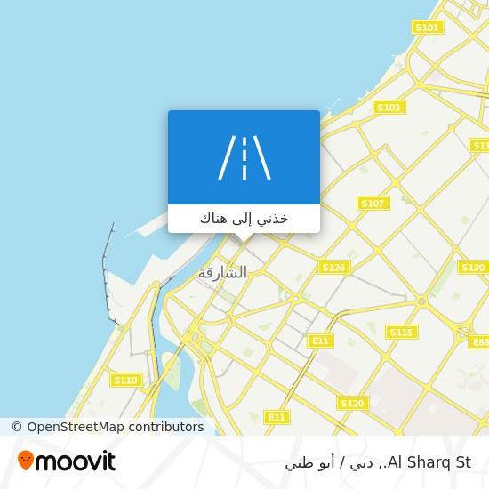 خريطة Al Sharq St.