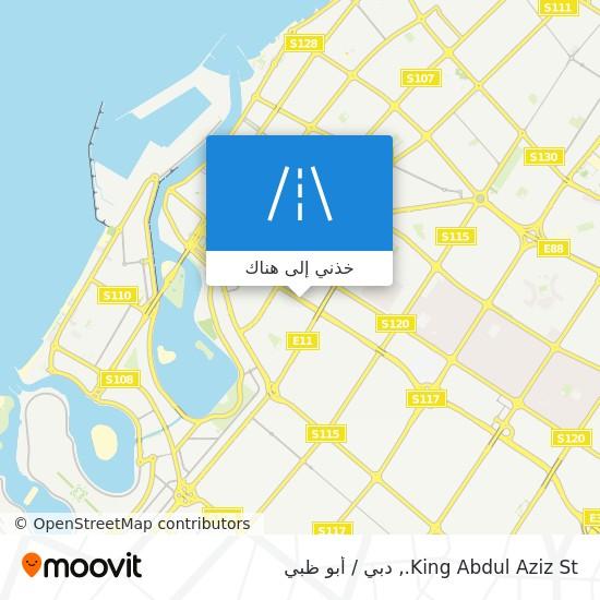 خريطة King Abdul Aziz St.