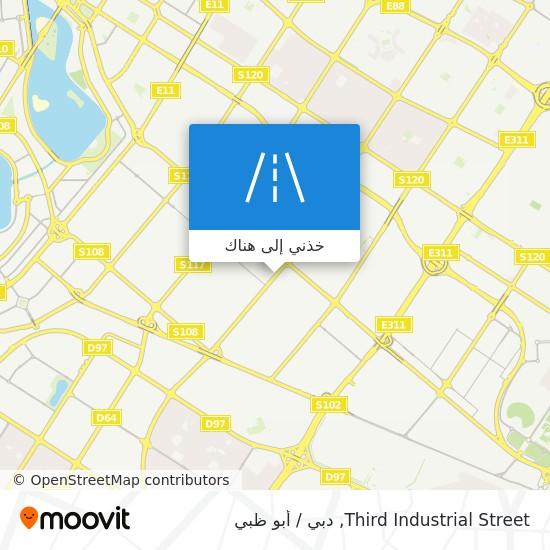 خريطة Third Industrial Street