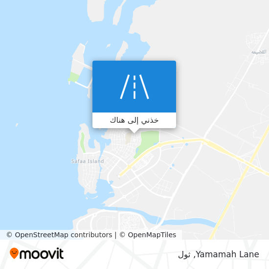 خريطة Yamamah Lane