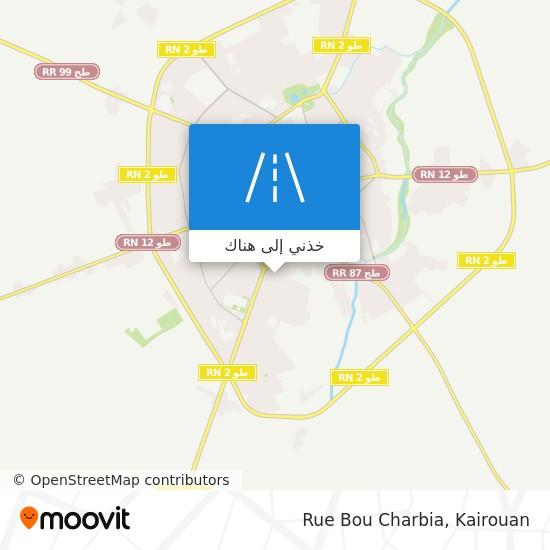 خريطة Rue Bou Charbia