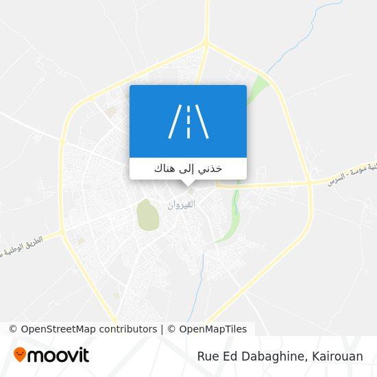 خريطة Rue Ed Dabaghine