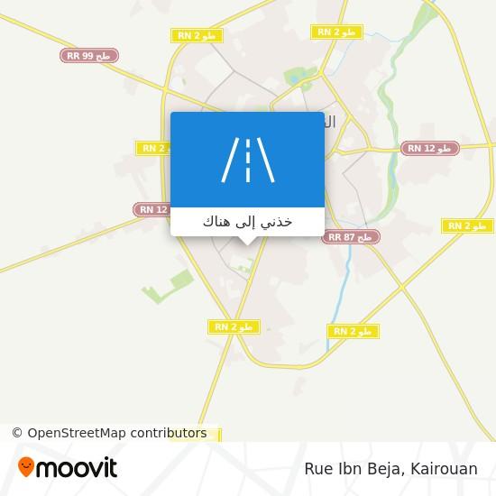 خريطة Rue Ibn Beja