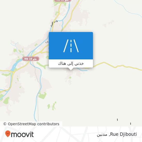 خريطة Rue Djibouti