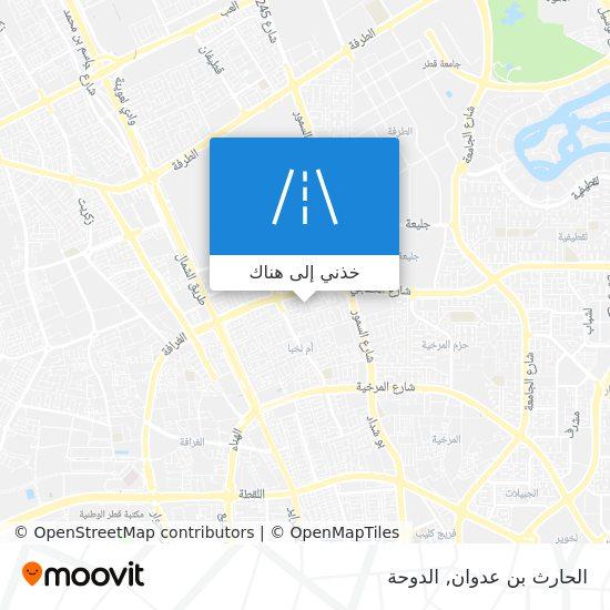 خريطة الحارث بن عدوان