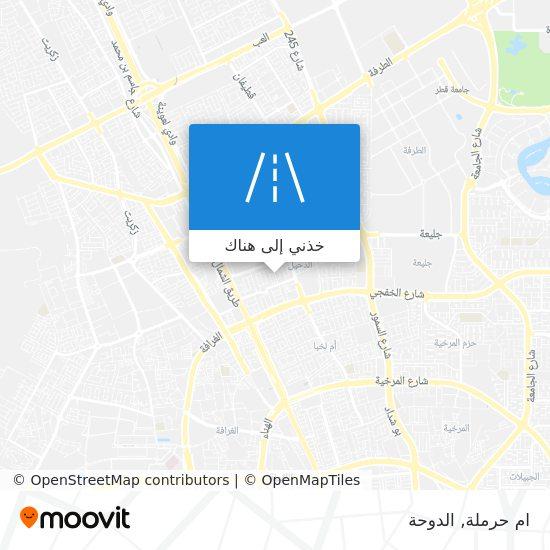 خريطة ام حرملة