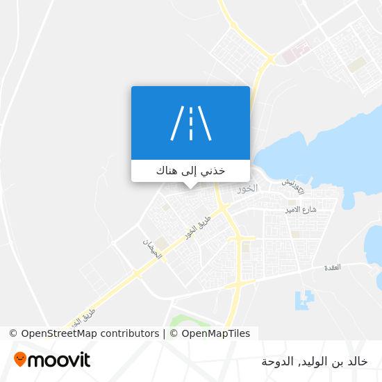 خريطة خالد بن الوليد