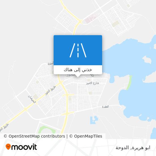 خريطة ابو هريرة