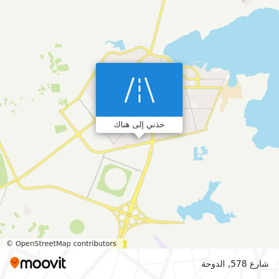 خريطة شارع 578