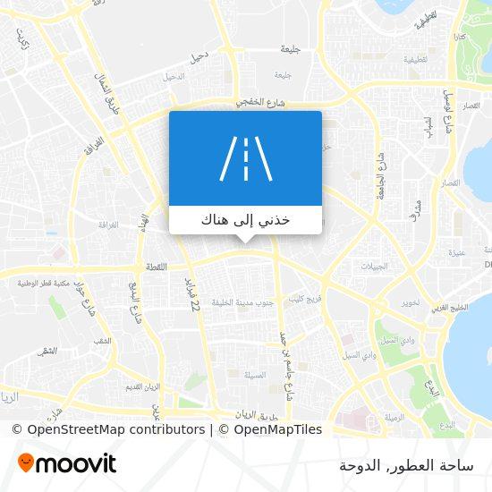 خريطة ساحة العطور