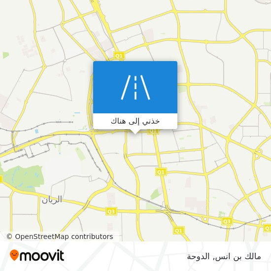 خريطة مالك بن انس