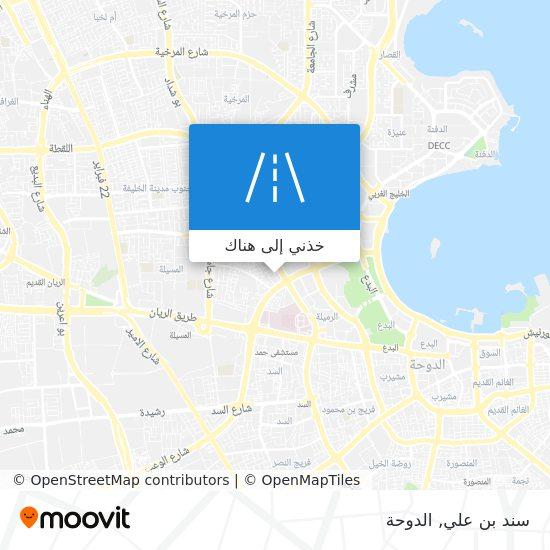 خريطة سند بن علي