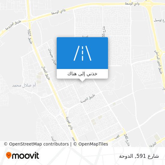 خريطة شارع 591