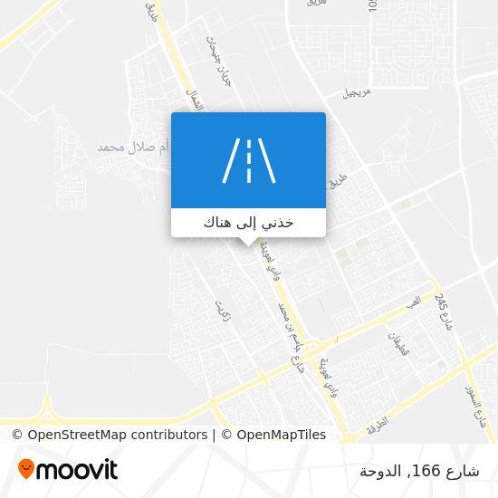 خريطة شارع 166