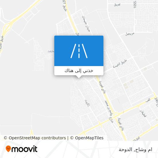 خريطة ام وشاح