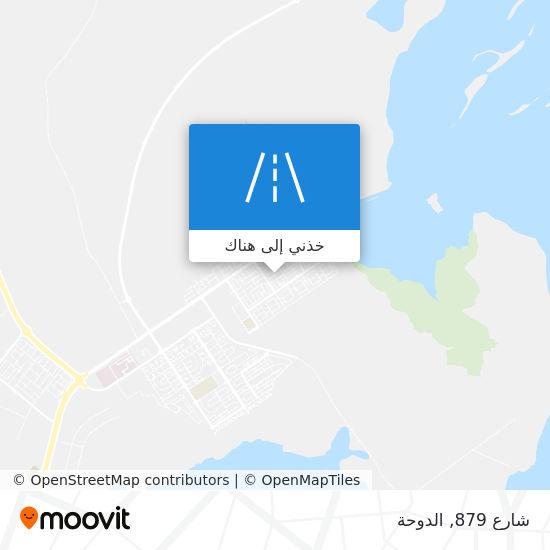 خريطة شارع 879