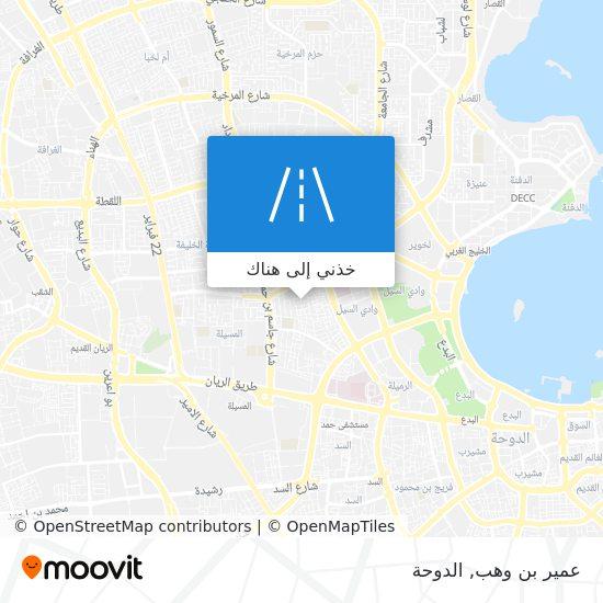 خريطة عمير بن وهب
