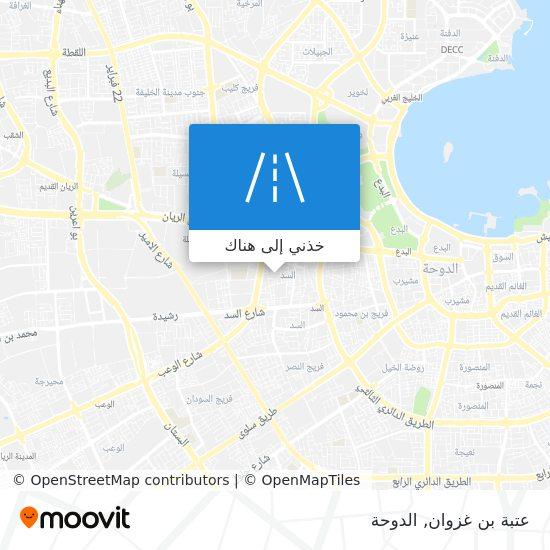 خريطة عتبة بن غزوان