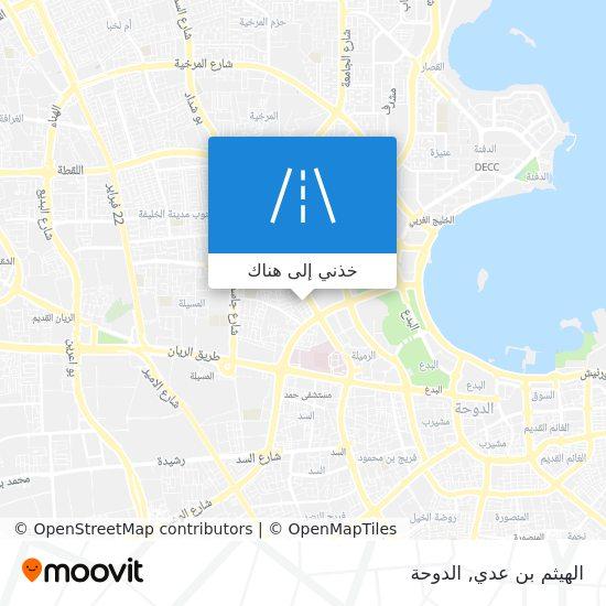 خريطة الهيثم بن عدي