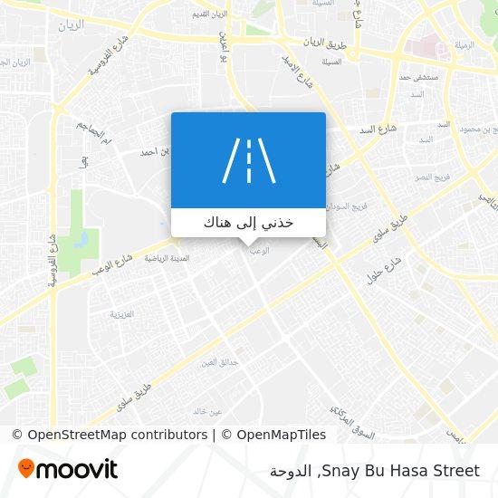 خريطة Snay Bu Hasa Street