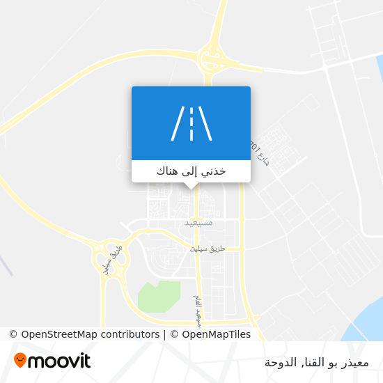 خريطة معيذر بو القنا