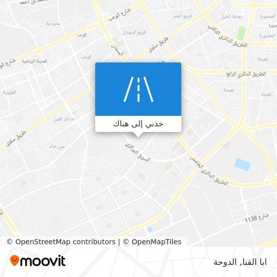 خريطة ابا القنا