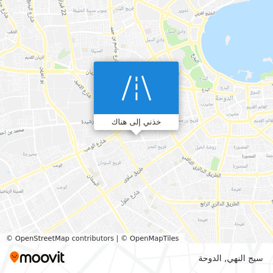خريطة سيج النهي