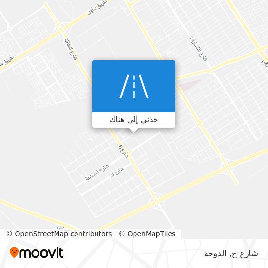 خريطة شارع ج