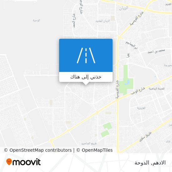 خريطة الادهم