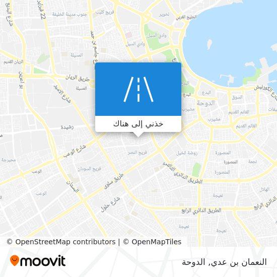 خريطة النعمان بن عدي