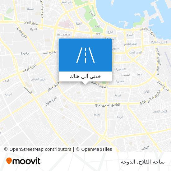 خريطة ساحة الفلاح