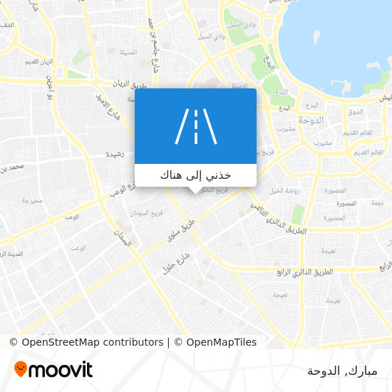خريطة مبارك