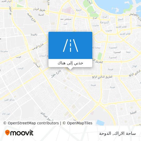 خريطة ساحة الاراك