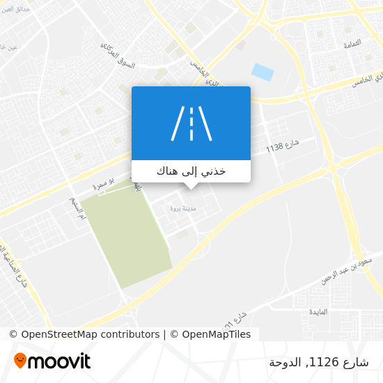 خريطة شارع 1126